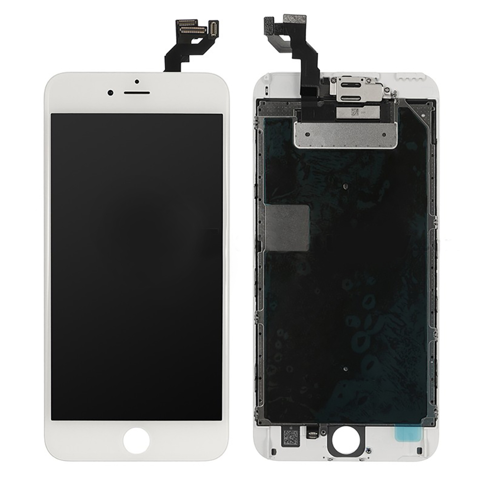 buy popular 4ed08 251ba iPhone 6S Plus Premium White LCD and Digitizer Glass Screen Replacement  With Small Parts