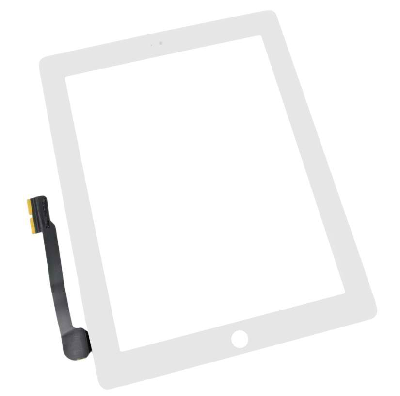 White NEW Touch Screen Digitizer Replacement For Apple iPad 4 Black